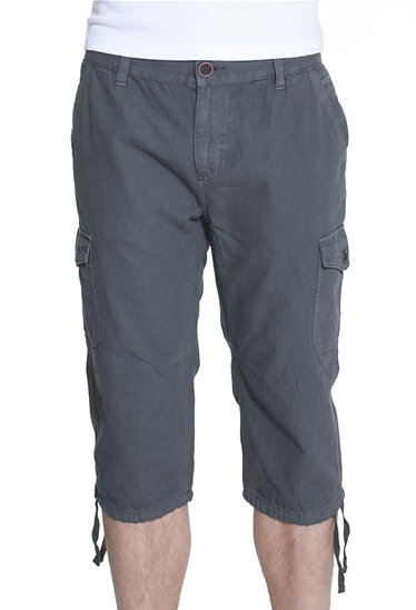Pantacourt twill multipoches anthracite